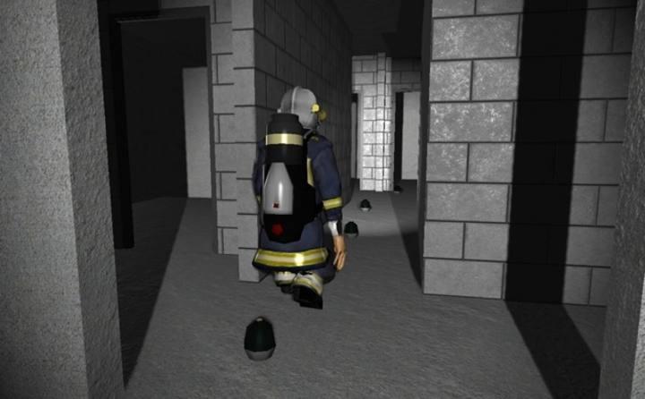 FireSim recrea situaciones de emergencia para que los bomberos sepan cómo actuar en casos reales