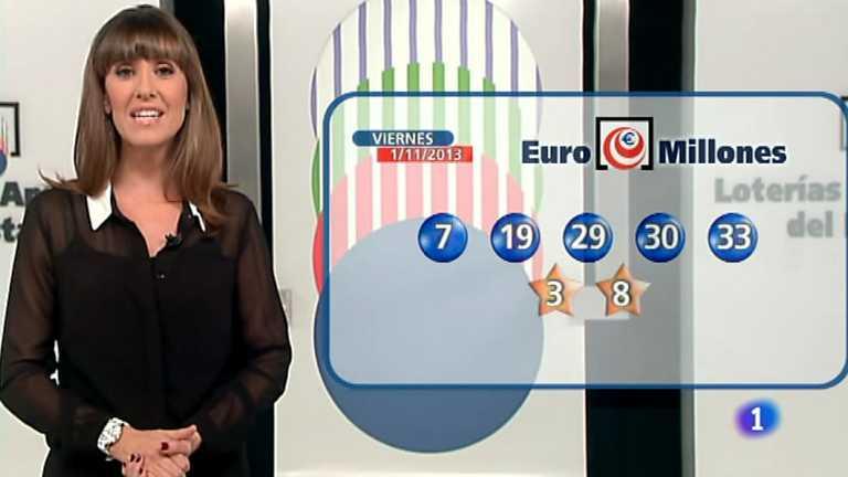 Bonoloto + Euromillones  - 01/11/13