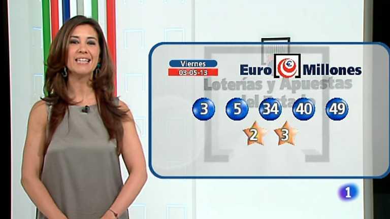 Bonoloto y Euromillones - 03/05/13