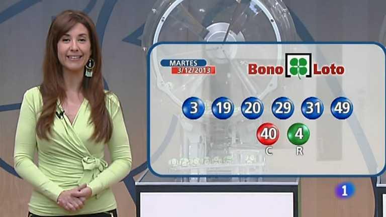 Bonoloto + Euromillones - 03/12/13