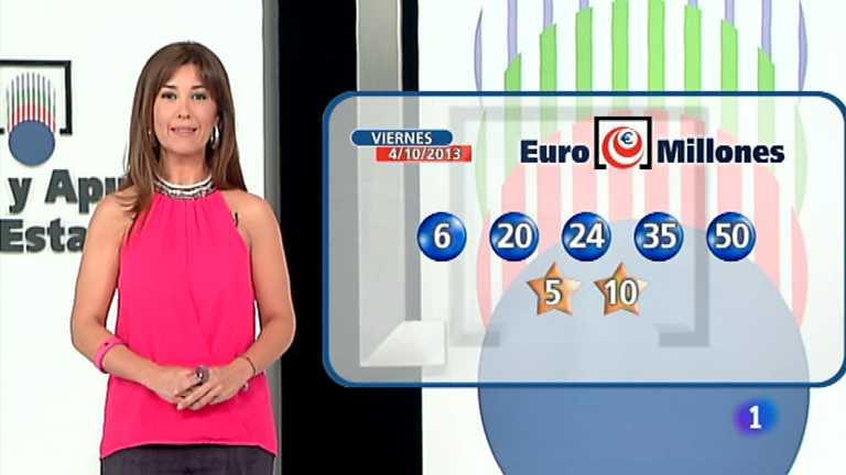Bonoloto + Euromillones - 04/10/13