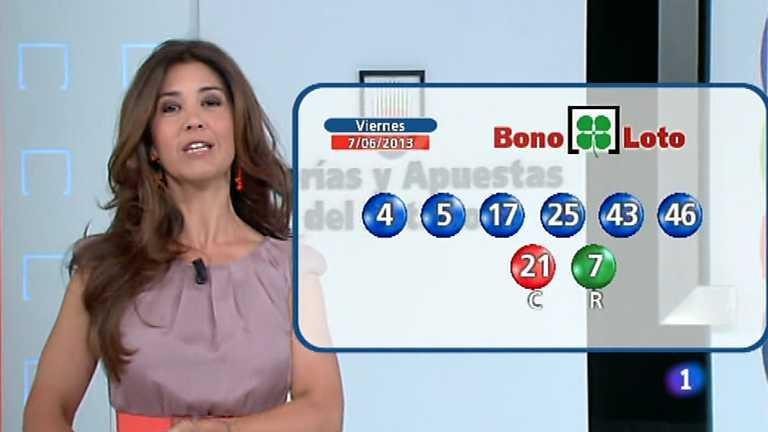 Bonoloto y Euromillones - 07/06/13