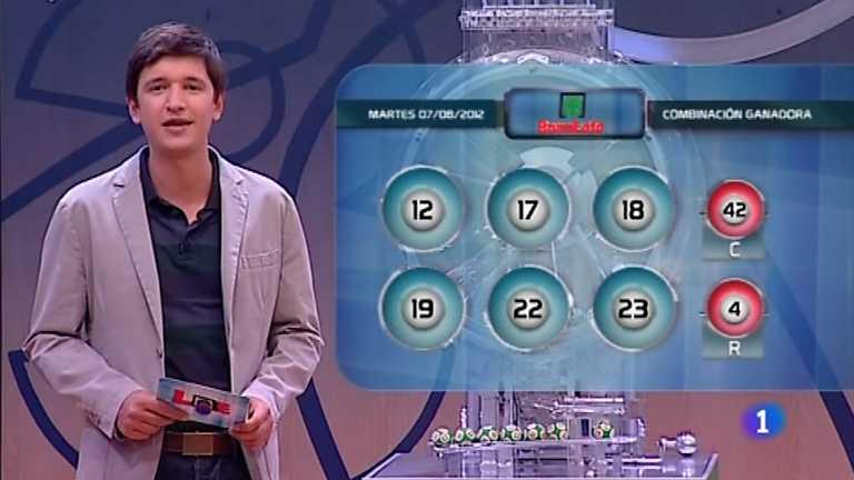 Bonoloto y Euromillones - 07/08/12