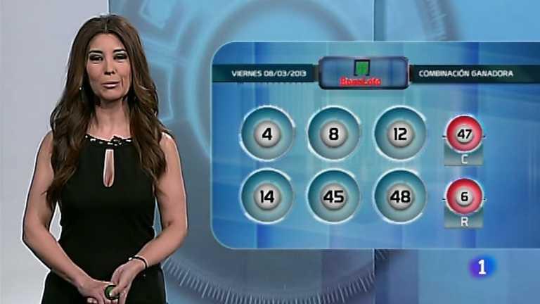 Bonoloto y Euromillones - 08/03/13