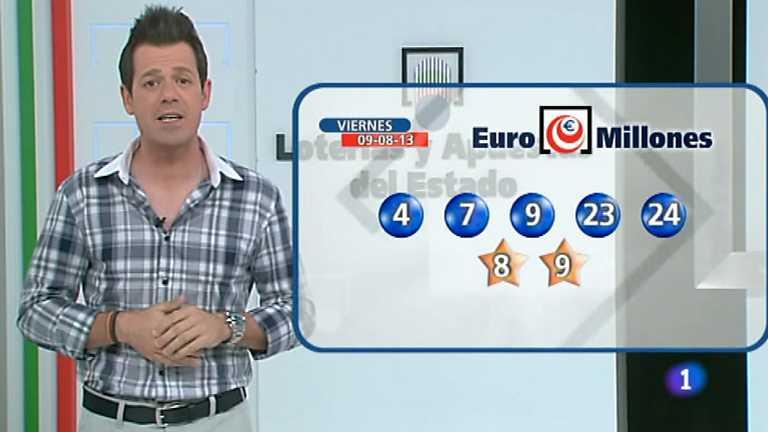 Bonoloto y Euromillones - 09/08/13