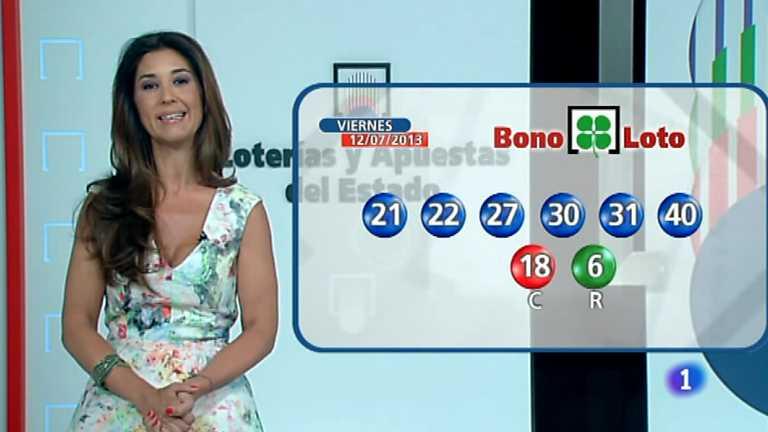 Bonoloto y Euromillones - 12/07/13