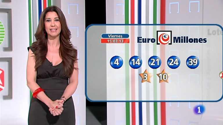 Bonoloto y Euromillones - 15/03/13