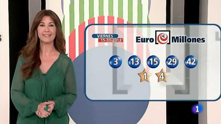 Bonoloto + Euromillones - 15/11/13