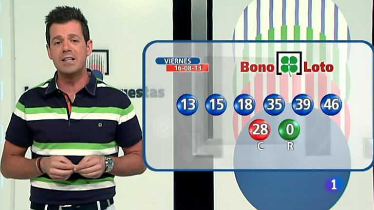 Bonoloto y Euromillones - 16/08/13