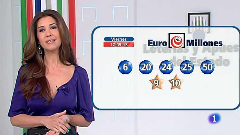 Bonoloto y Euromillones - 17/05/13