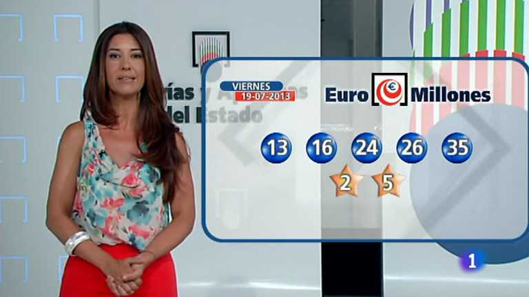 Bonoloto + Euromillones - 19/07/13