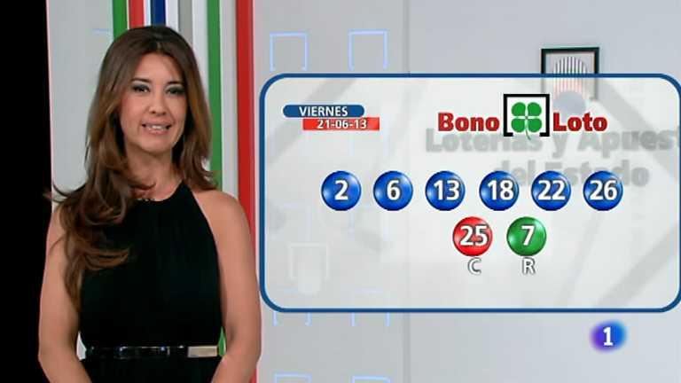 Bonoloto + Euromillones - 21/06/13