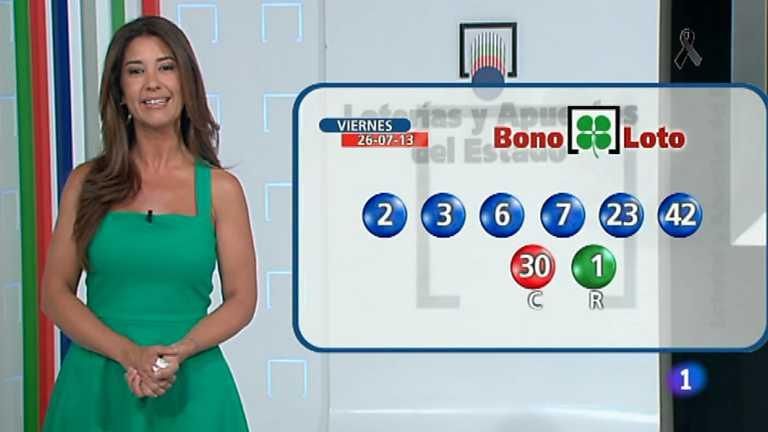 Bonoloto y Euromillones - 26/07/13