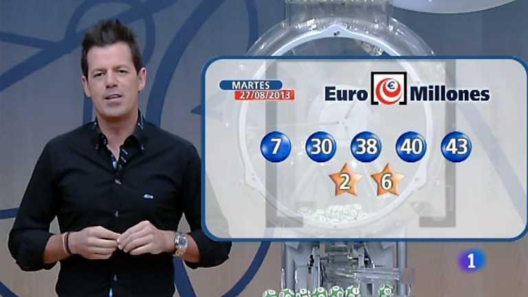 Bonoloto + Euromillones - 27/08/13