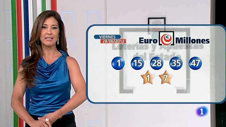 Bonoloto + Euromillones - 28/06/13