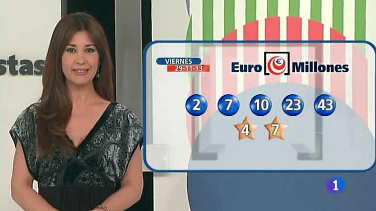 Bonoloto + Euromillones - 29/11/13