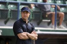 Brad Pitt es el mánager de un equipo de béisbol en crisis en 'Moneyball'
