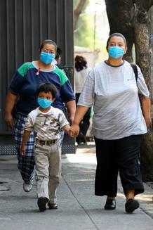 Brote de gripe en México