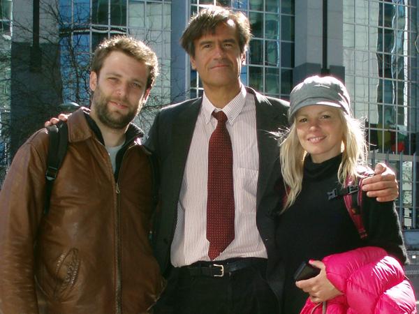 En Bruselas, junto al eurodiputado López Aguilar - Buscamundos