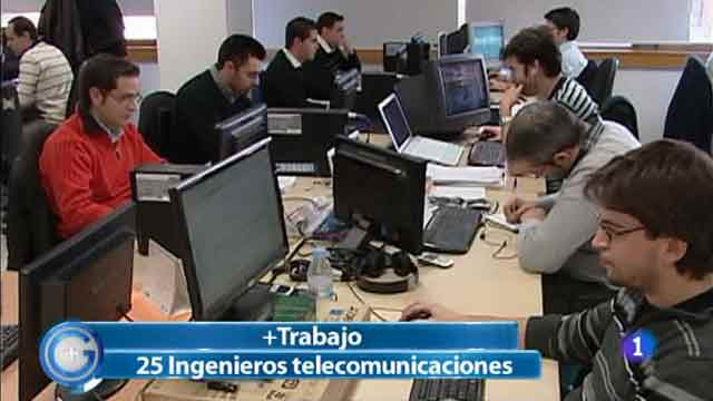 Más Gente - Más Trabajo - Buscan 25 ingenieros de telecomunicaciones en Valladolid