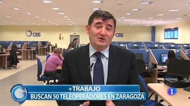 Más Gente - Más Trabajo - Buscan 50 teleoperadores en Zaragoza