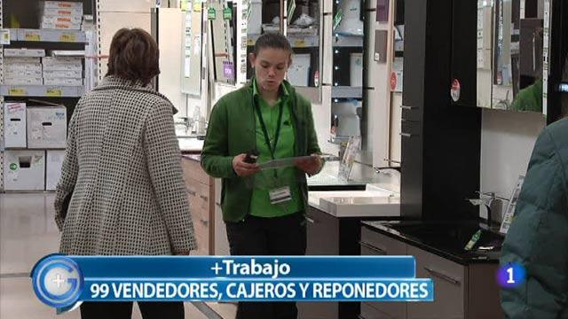 Más Gente - Buscan 99 vendedores, cajeros y reponedores en Madrid