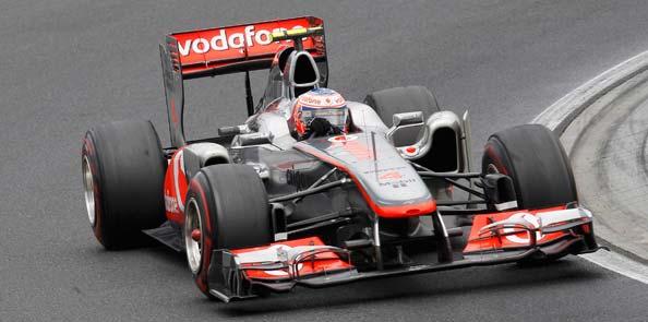 Button consigue en Hungría su segunda victoria de la temporada