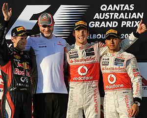 Button domina en Australia; Alonso consigue un magnífico quinto puesto