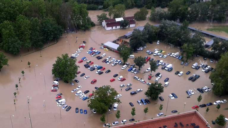 Continúan las evacuaciones en Navarra