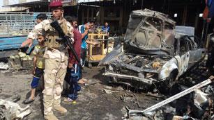 Ver vídeo  'Una cadena de atentados con coche bomba deja 50 muertos en Irak'