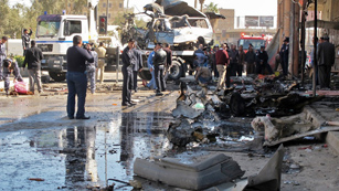 Ver vídeo  'Una cadena de atentados deja 43 muertos y 200 heridos en Irak'