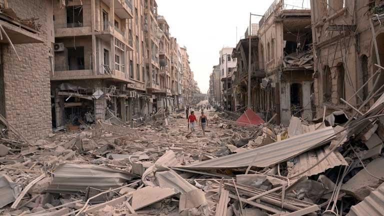 Cadena de atentados en Siria