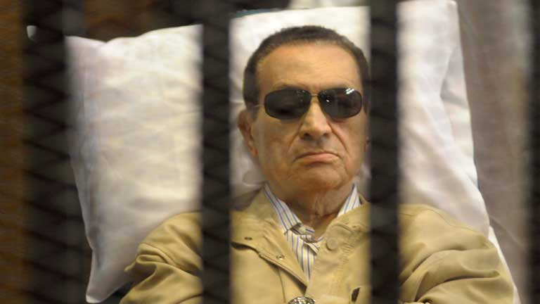 Mubarak, condenado a cadena perpetua