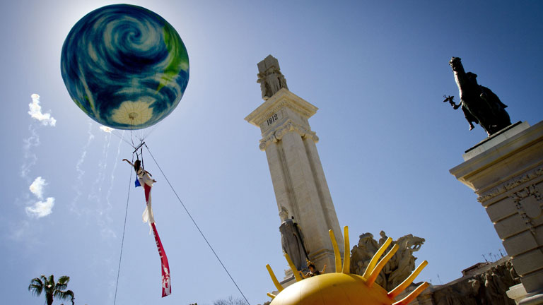 Cádiz se engalana para celebrar el bicentenario de La Pepa