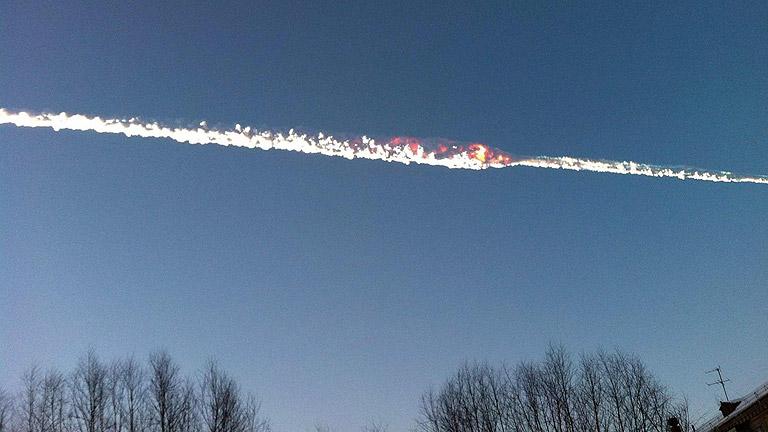 Centenares de heridos en Rusia por la caída de un meteorito