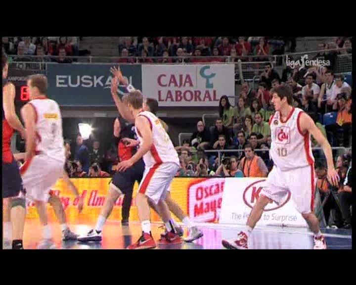 Caja Laboral 88-64 CAI Zaragoza