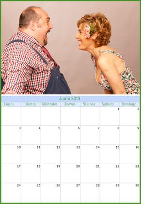 El calendario 'okupa' del capítulo 8
