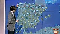 Calor en el sur y lluvias en el norte