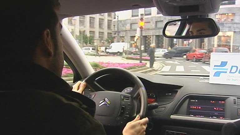 Modificaciones en el proceso de examen para conducir