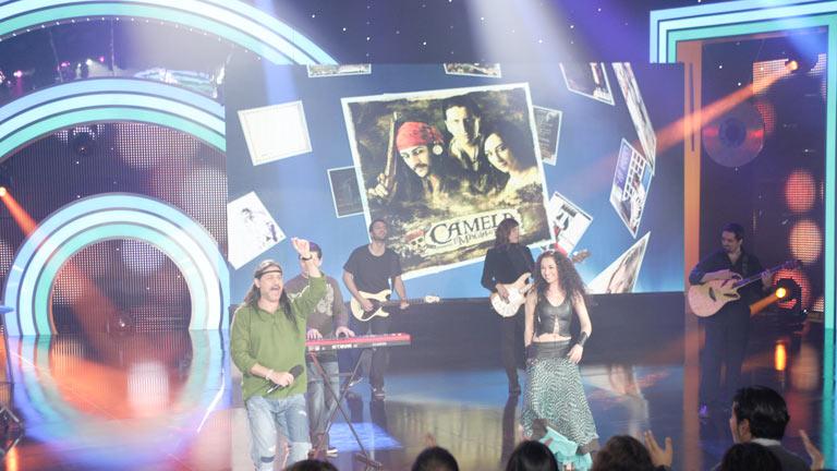 Disco del año 2011 - Actuación de Camela