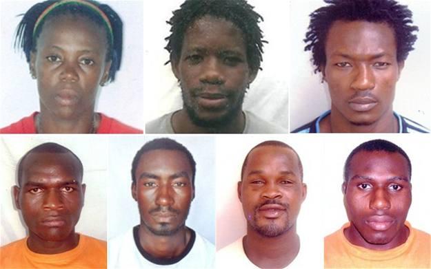 Los atletas cameruneses desaparecidos en Londres.