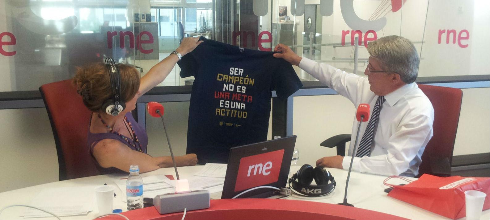 ...la camiseta