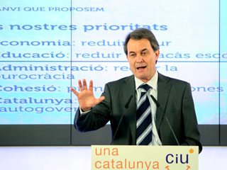 Ver v?deo  'Campaña electoral en Cataluña: 15/11/2010'