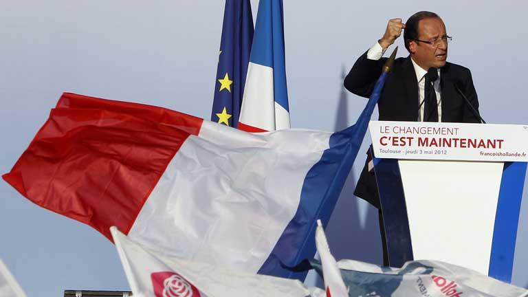 Último día de campaña electoral en Francia