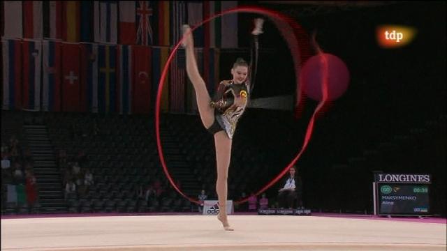 Campeonato del mundo de gimnasia r tmica final individual for Gimnasia con aparatos