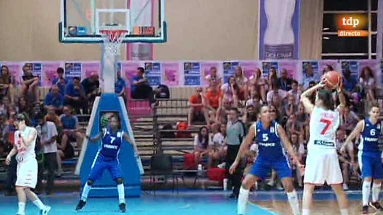 Baloncesto femenino - Campeonato de Europa sub-20: Final