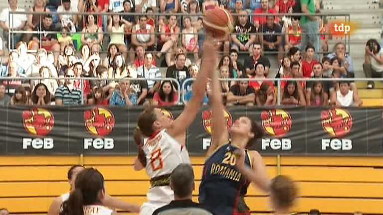 Baloncesto femenino - Campeonato de Europa: Espa&ntilde;a-Ruman&iacute;a