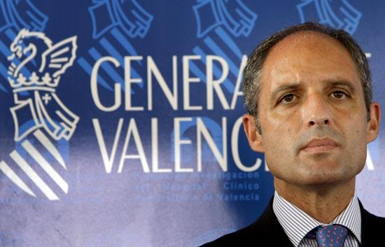 El juez que instruye en Valencia el caso Gürtel ve indicios para juzgar a Camps por un delito de cohecho