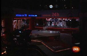 Ver v?deo  'El Canal 24 Horas se suma al apagón'