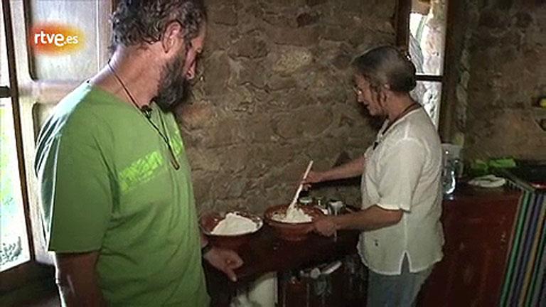 Conectando España - Candeleda - Elaboración del pan